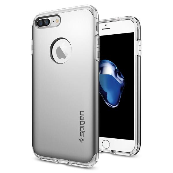 Чехол Spigen Hybrid Armor Satin Silver для iPhone 7 Plus