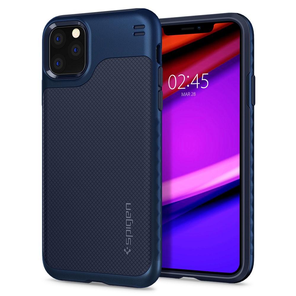 Купить Чехол Spigen Hybrid NX Navy Blue для iPhone 11 Pro