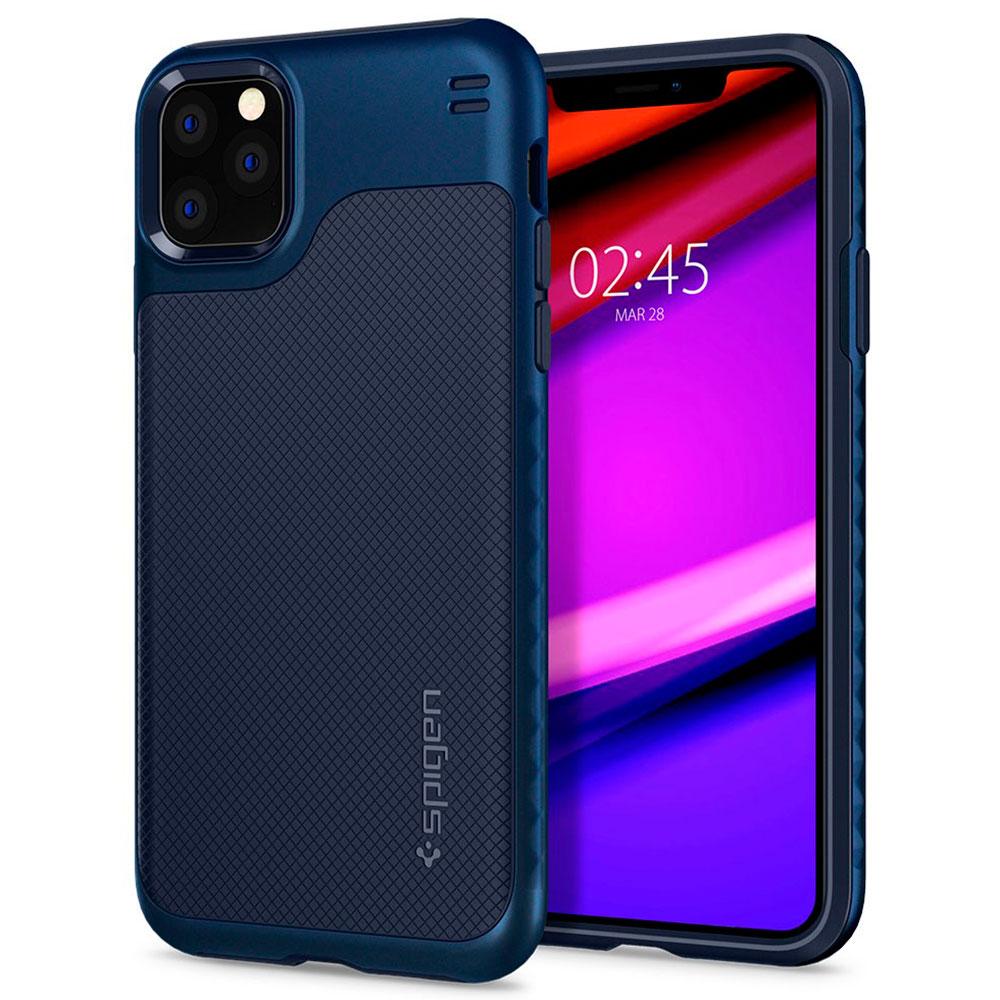 Купить Чехол Spigen Hybrid NX Navy Blue для iPhone 11 Pro Max