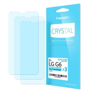 Купить Защитная пленка Spigen Crystal для LG G6 (3 пленки)