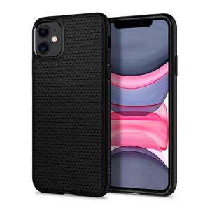 Купить Чехол Spigen Liquid Air Matte Black для iPhone 11