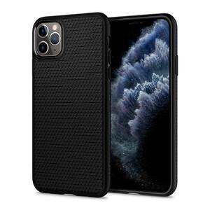 Купить Чехол Spigen Liquid Air Matte Black для iPhone 11 Pro Max
