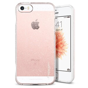 Купить Чехол Spigen Liquid Air Glitter Crystal Quartz для iPhone 5/5S/SE
