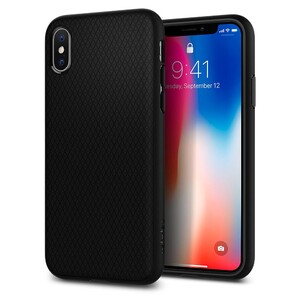 Купить Чехол Spigen Liquid Air Matte Black для iPhone X