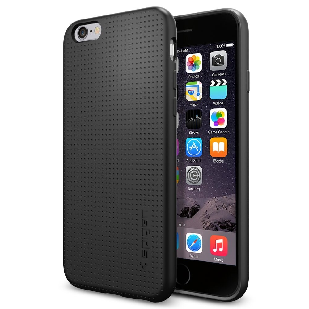 Чехол Spigen Liquid Air Armor Black для iPhone 6/6s