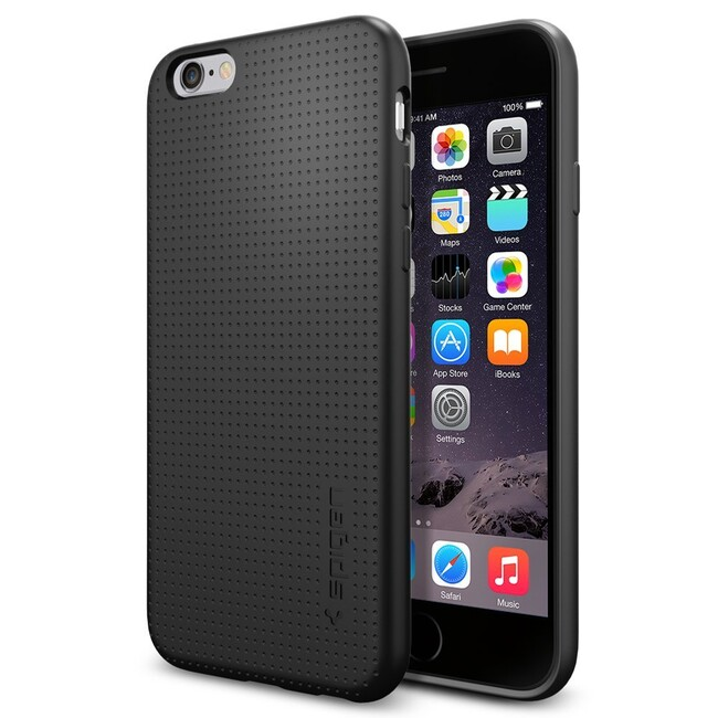 Чехол Spigen Liquid Armor Black для iPhone 6/6s