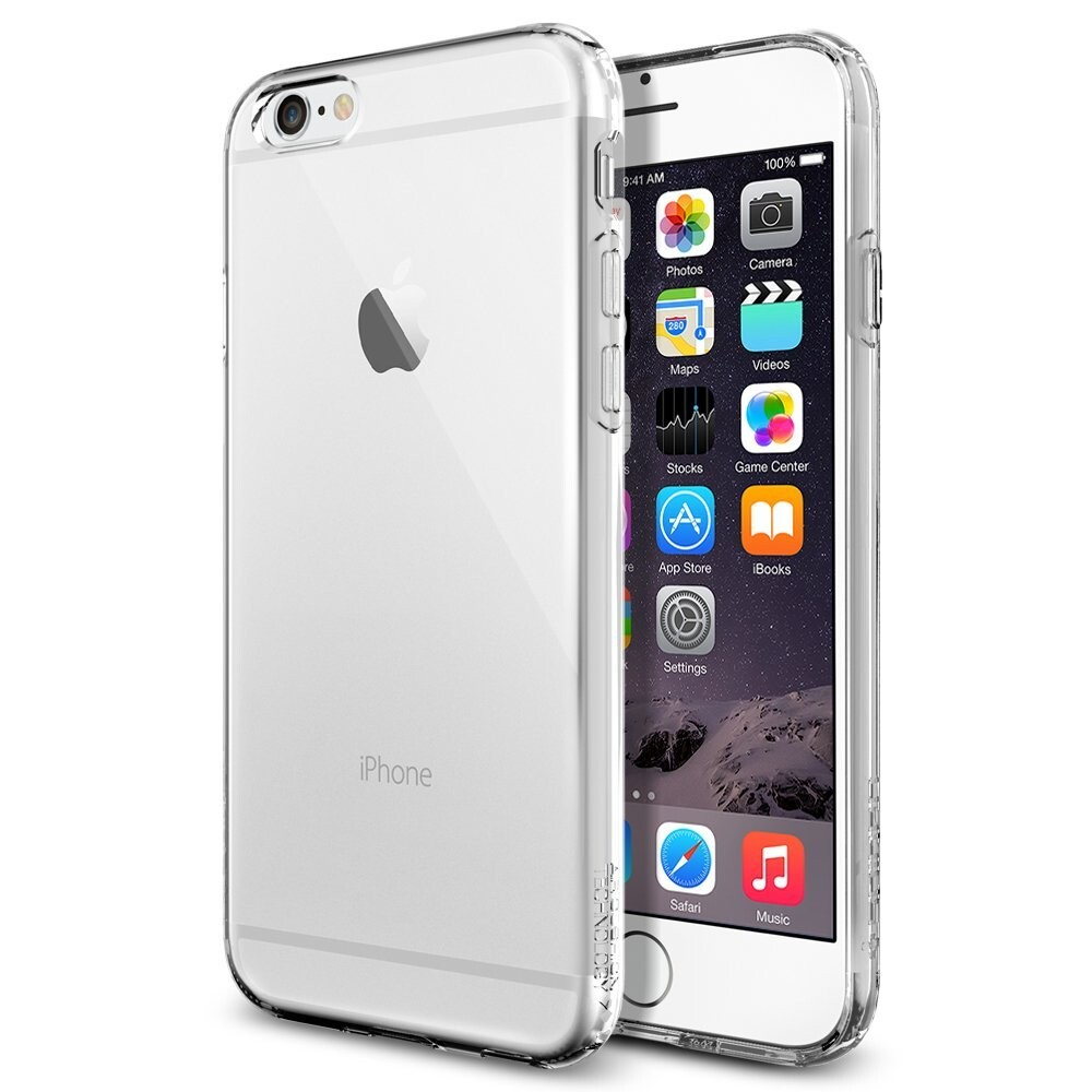 Чехол Spigen Liquid Air Armor Crystal Clear для iPhone 6/6s