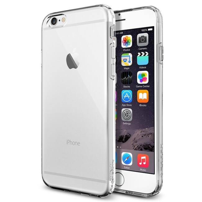 Чехол Spigen Liquid Armor Crystal Clear для iPhone 6/6s