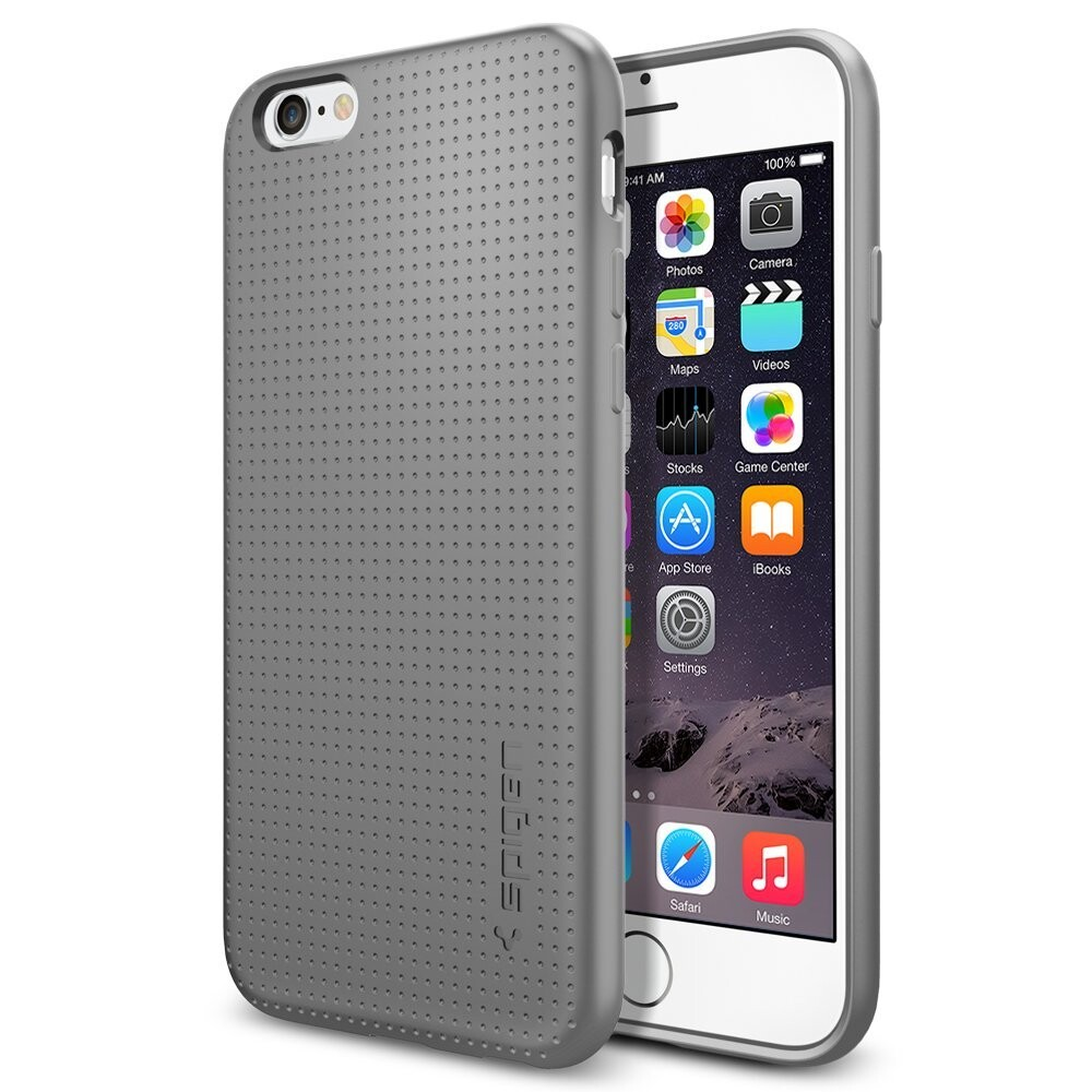 Чехол Spigen Liquid Air Armor Gray для iPhone 6/6s