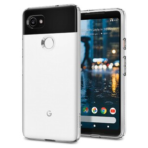 Купить Чехол Spigen Liquid Crystal Crystal Clear для Google Pixel 2 XL