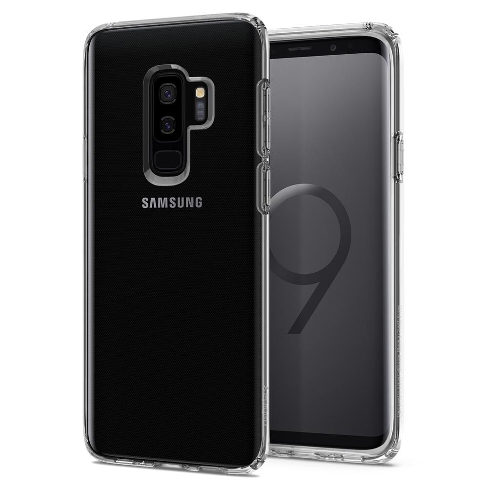 Чехол Spigen Liquid Crystal Crystal Clear для Samsung Galaxy S9 Plus