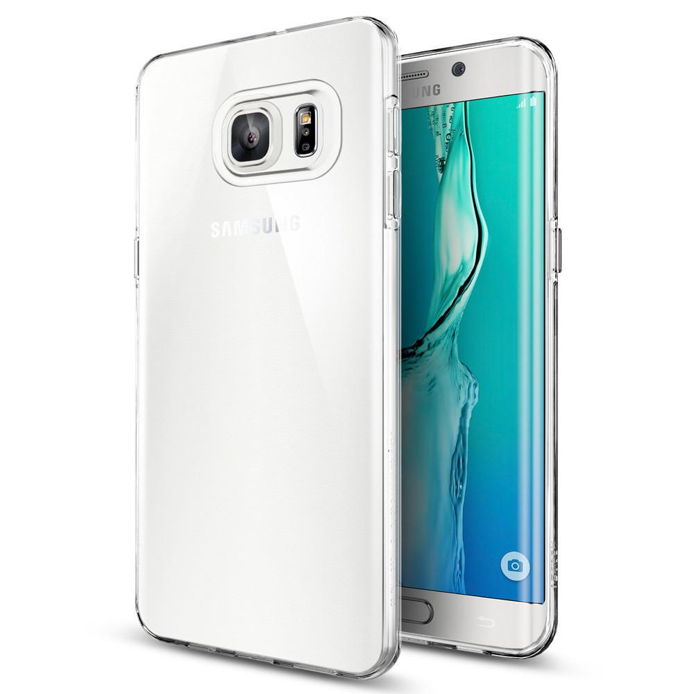 Купить Чехол Spigen Liquid Crystal для Samsung Galaxy S6 Edge+