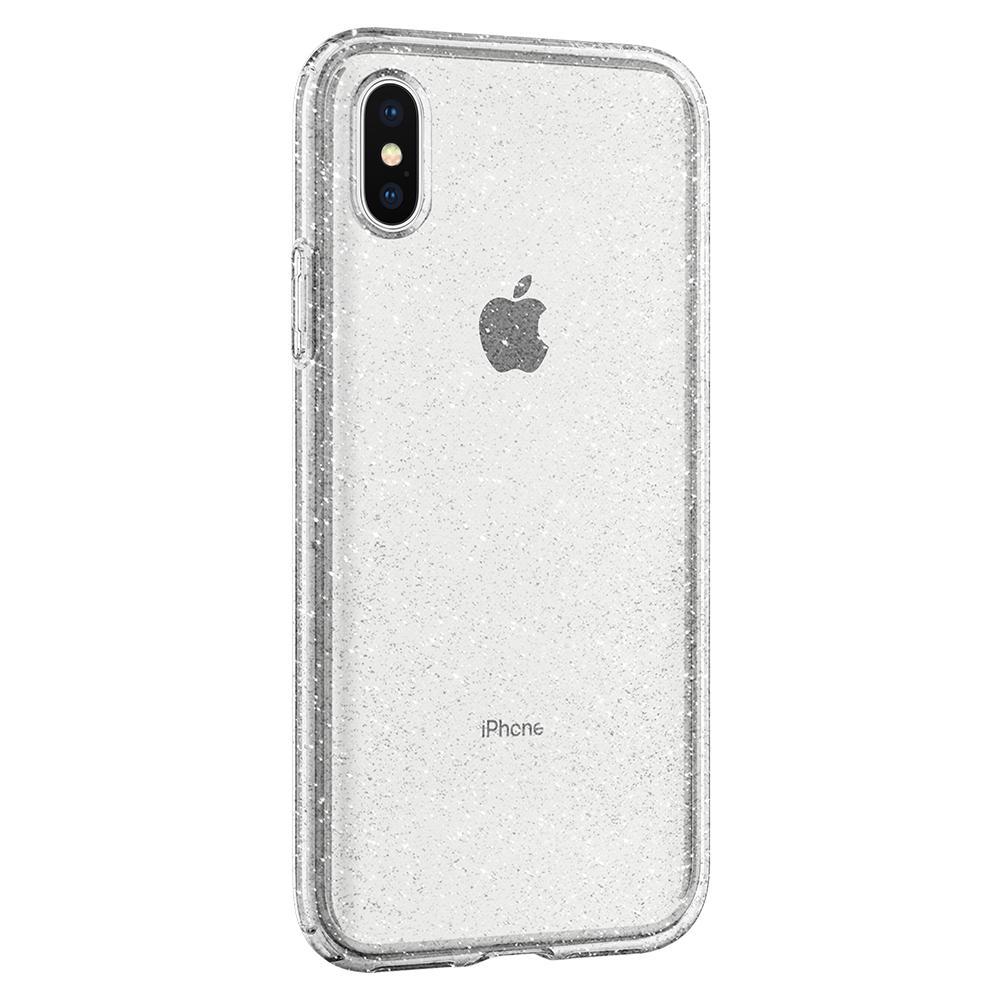 new style e5fe3 1ddf4 Чехол Spigen Liquid Crystal Glitter Crystal Quartz для iPhone X/XS