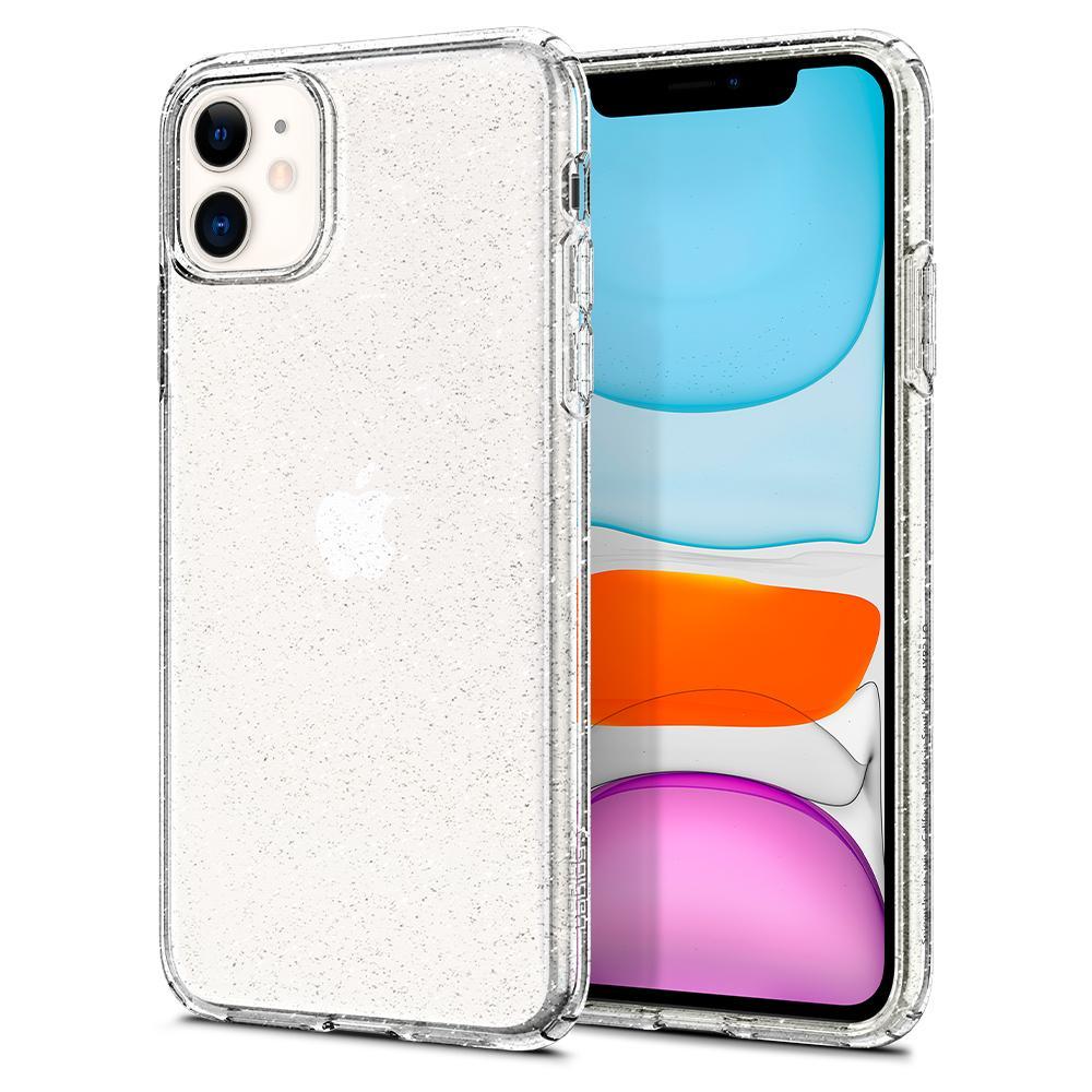 Купить Чехол Spigen Liquid Crystal Glitter Crystal Quartz для iPhone 11