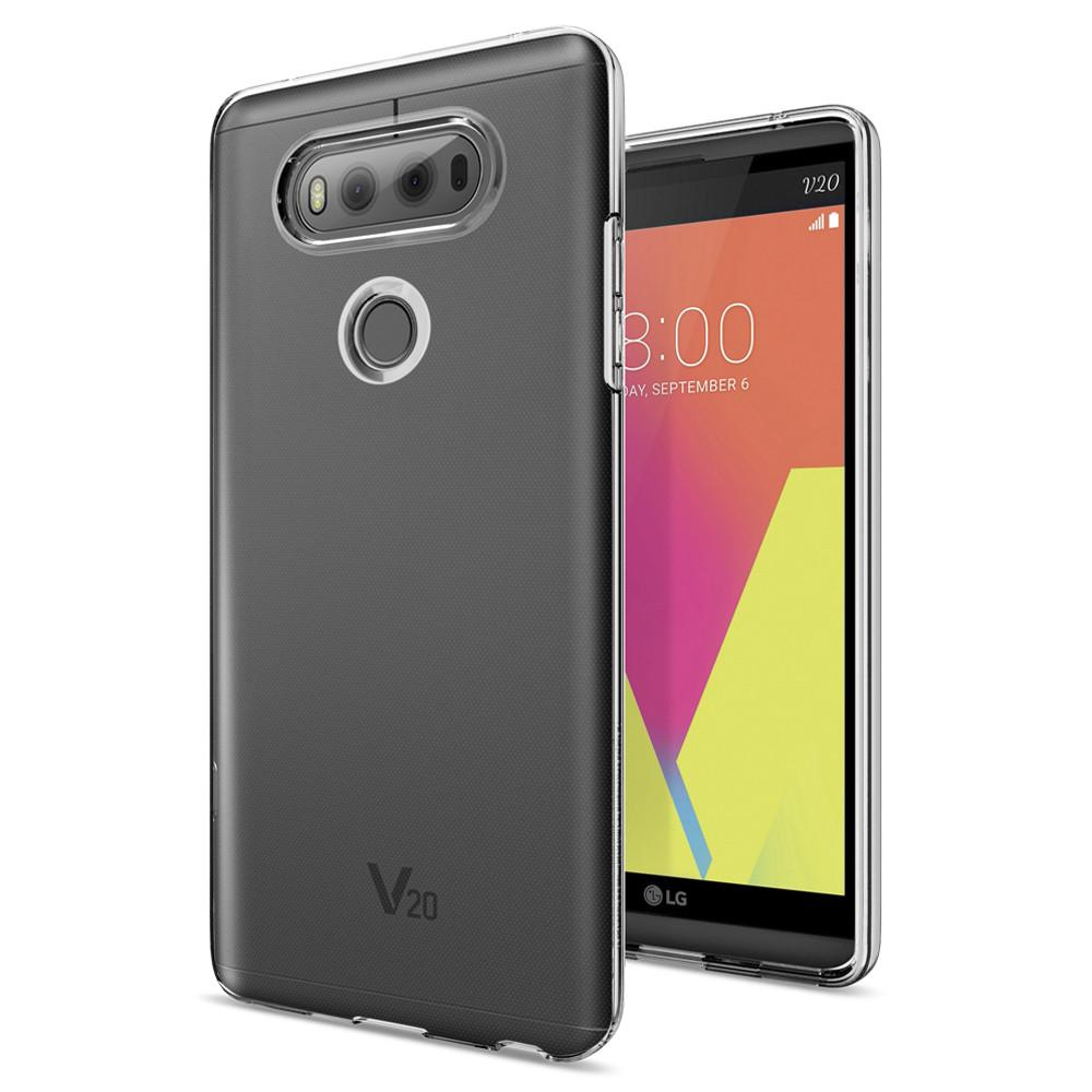 Купить Чехол Spigen Liquid Crystal Crystal Clear для LG V20