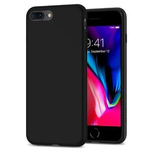 Купить Чехол Spigen Liquid Crystal Matte Black для iPhone 7 Plus/8 Plus