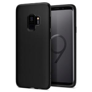 Купить Чехол Spigen Liquid Crystal Matte Black для Samsung Galaxy S9