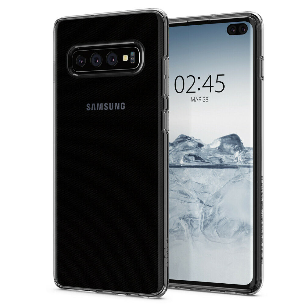 Купить Чехол Spigen Liquid Crystal Clear для Samsung Galaxy S10 Plus