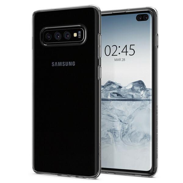 Чехол Spigen Liquid Crystal Clear для Samsung Galaxy S10 Plus