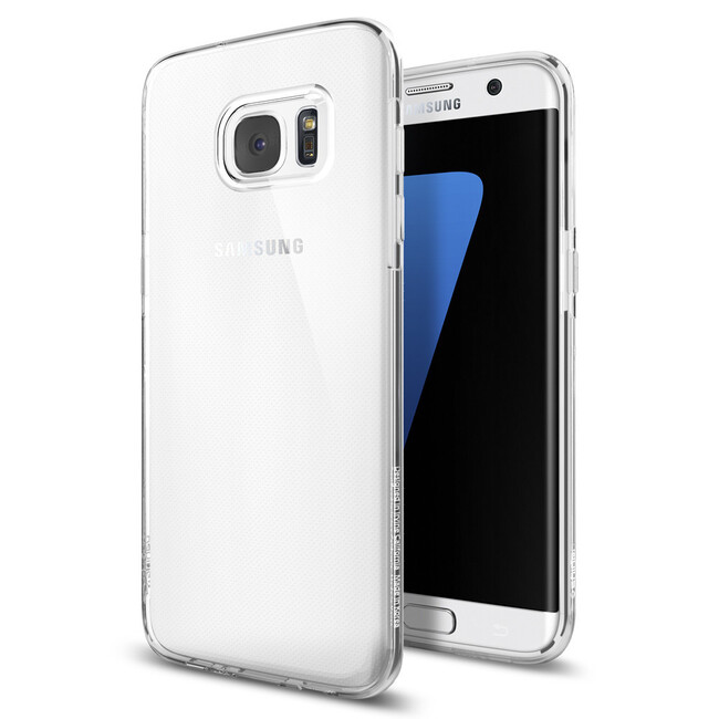 Чехол Spigen Liquid Crystal для Samsung Galaxy S7 edge