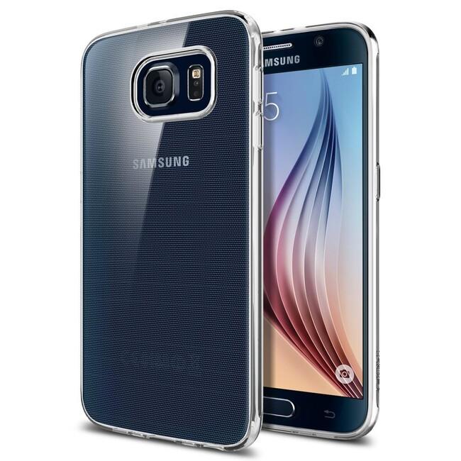 Чехол Spigen Liquid Crystal для Samsung Galaxy S6