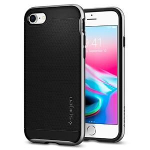 Купить Чехол Spigen Neo Hybrid 2 Satin Silver для iPhone 8/7