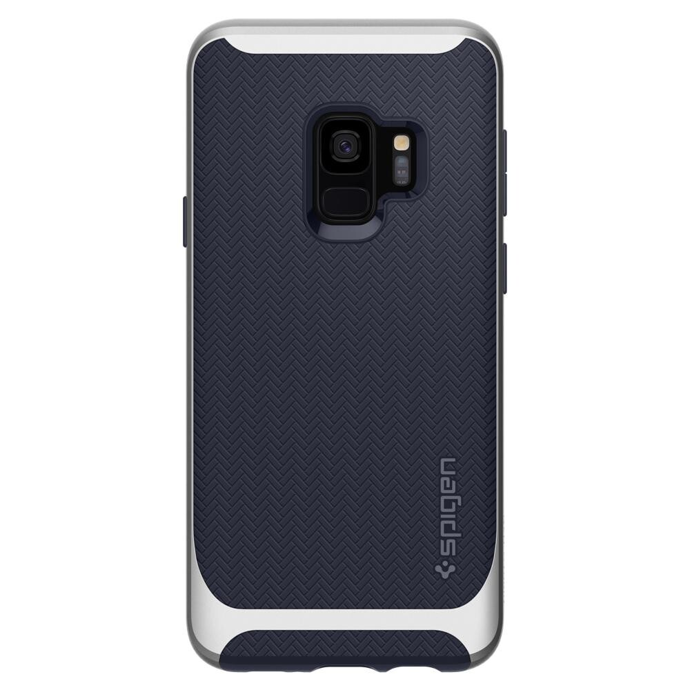 Чехол Spigen Neo Hybrid Arctic Silver для Samsung Galaxy S9