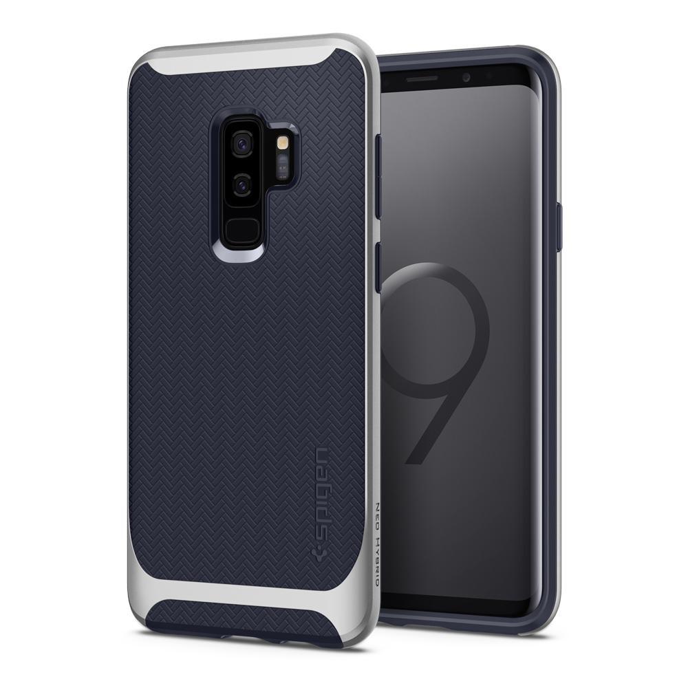 Чехол Spigen Neo Hybrid Arctic Silver для Samsung Galaxy S9 Plus