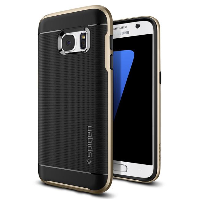 Чехол Spigen Neo Hybrid Champagne Gold для Samsung Galaxy S7