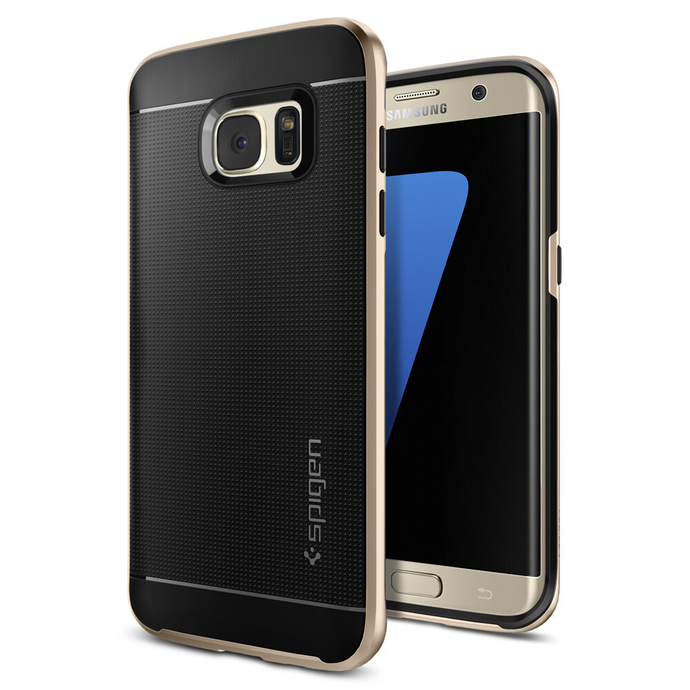 Чехол Spigen Neo Hybrid Champagne Gold для Samsung Galaxy S7 edge