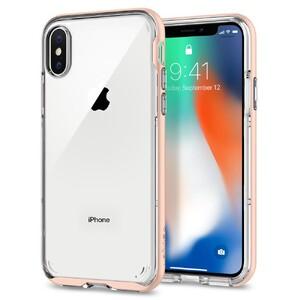 Купить Чехол Spigen Neo Hybrid Crystal Blush Gold для iPhone X/XS