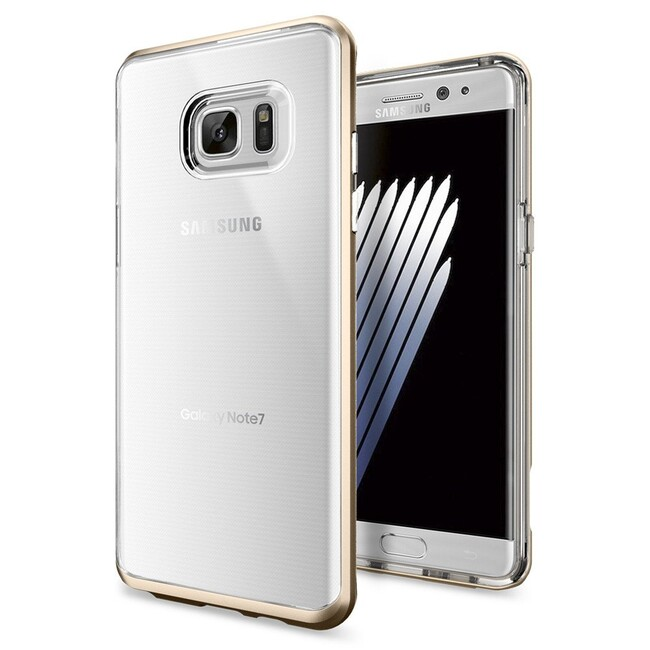 Чехол Spigen Neo Hybrid Crystal Champagne Gold для Samsung Galaxy Note 7