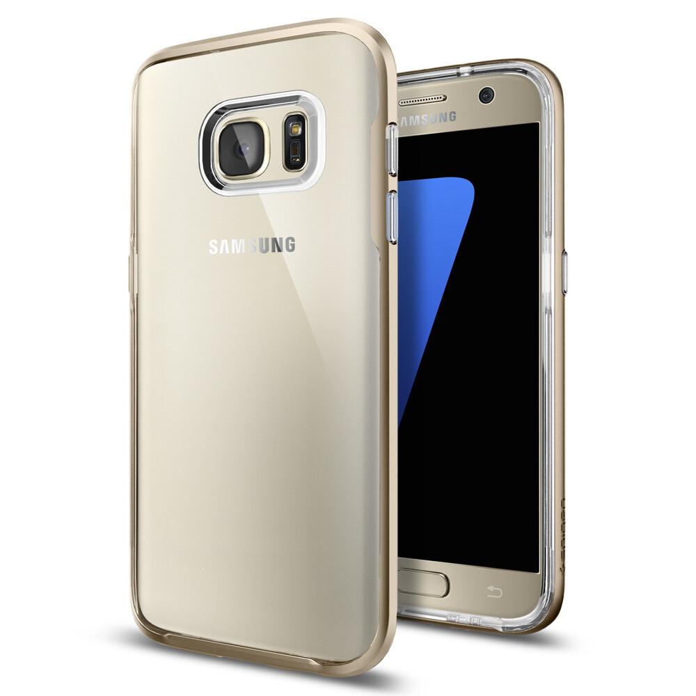 Чехол Spigen Neo Hybrid Crystal Champagne Gold для Samsung Galaxy S7
