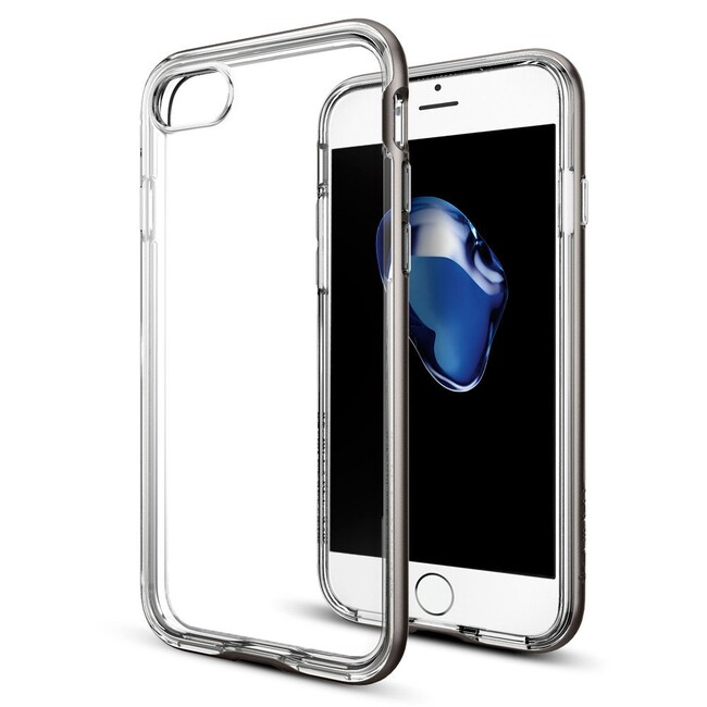 Чехол Spigen Neo Hybrid Crystal Gunmetal для iPhone 7