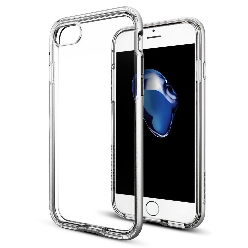Чехол Spigen Neo Hybrid Crystal Satin Silver для iPhone 7/8