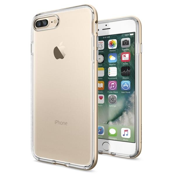 Чехол Spigen Neo Hybrid Crystal Champagne Gold для iPhone 7 Plus/8 Plus
