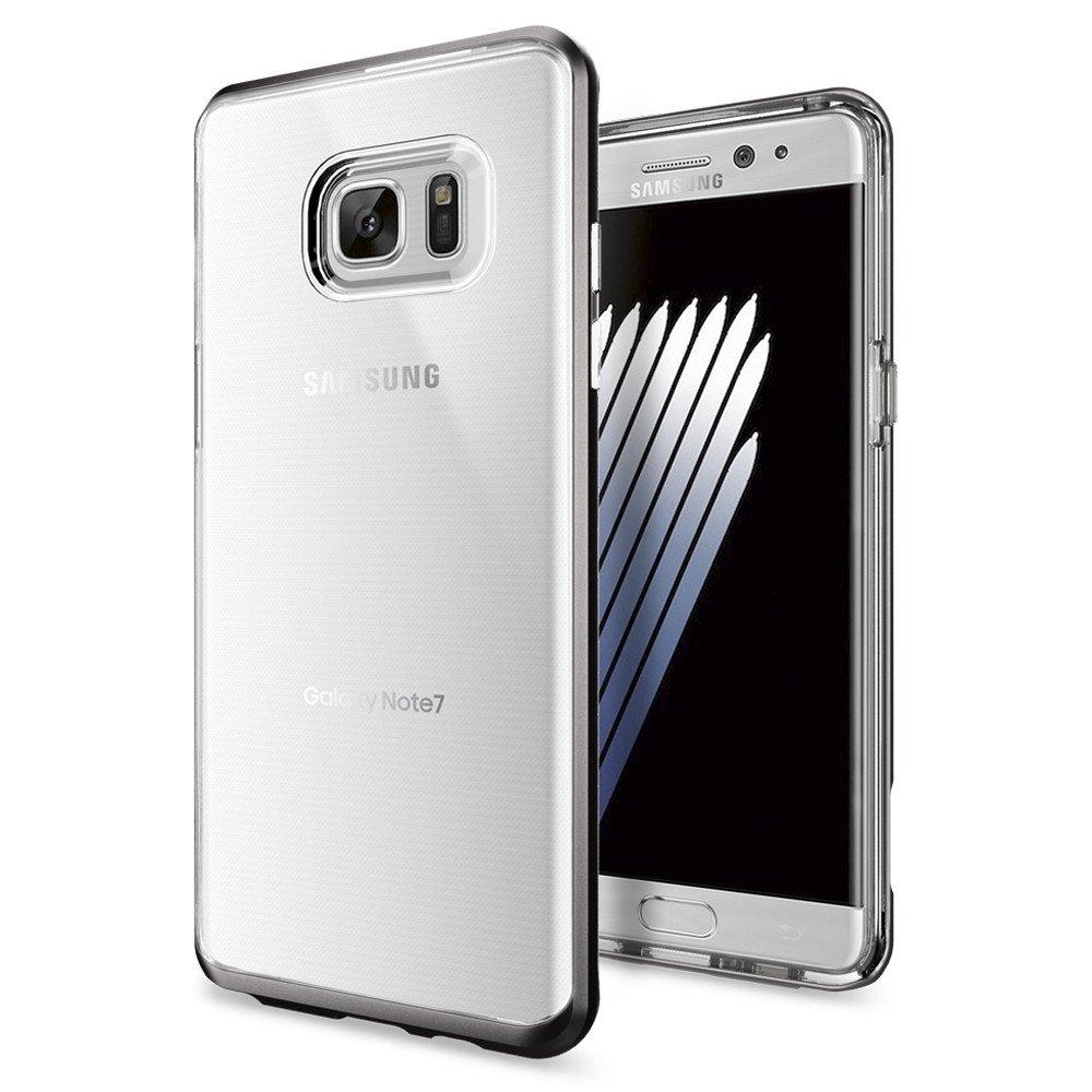 Купить Чехол Spigen Neo Hybrid Crystal Gunmetal для Samsung Galaxy Note 7