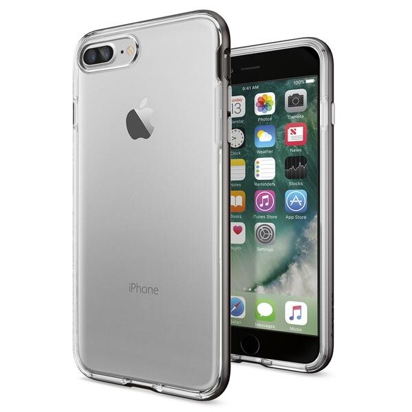 Чехол Spigen Neo Hybrid Crystal Gunmetal для iPhone 7 Plus/8 Plus