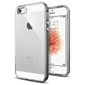 Купить Чехол Spigen Neo Hybrid Crystal Gunmetal для iPhone SE/5S/5