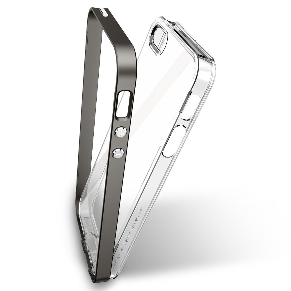 best service 8c1cd 6ea33 Чехол Spigen Neo Hybrid Crystal Gunmetal для iPhone SE/5S/5 Купить в ...
