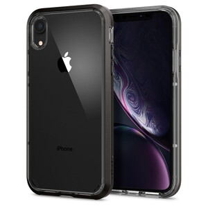 Купить Чехол Spigen Neo Hybrid Crystal Gunmetal для iPhone XR