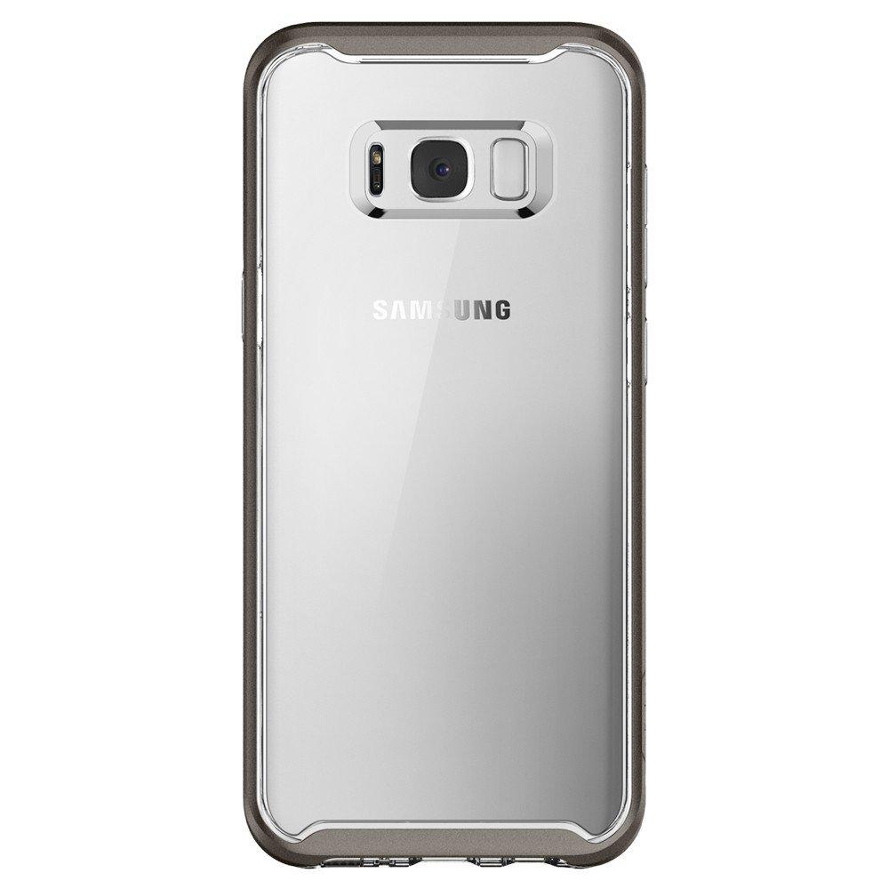 enjoy spigen neo hybrid crystal samsung galaxy s8 plus case gunmetal 1 has