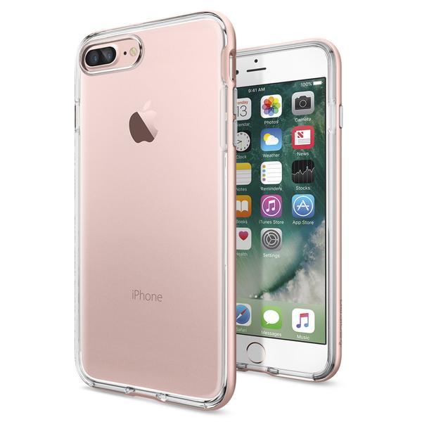 Купить Чехол Spigen Neo Hybrid Crystal Rose Gold для iPhone 7 Plus | 8 Plus (Витринный образец)