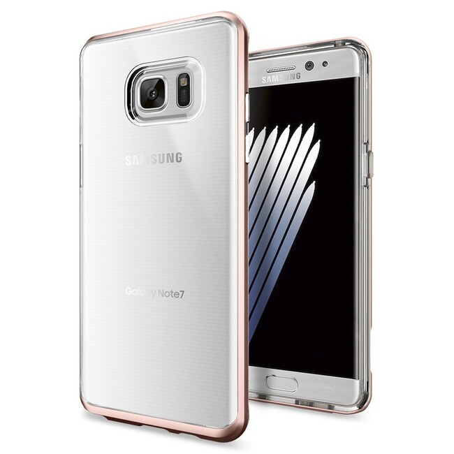 Чехол Spigen Neo Hybrid Crystal Rose Gold для Samsung Galaxy Note 7