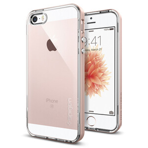 Купить Чехол Spigen Neo Hybrid Crystal Rose Gold для iPhone SE/5S/5