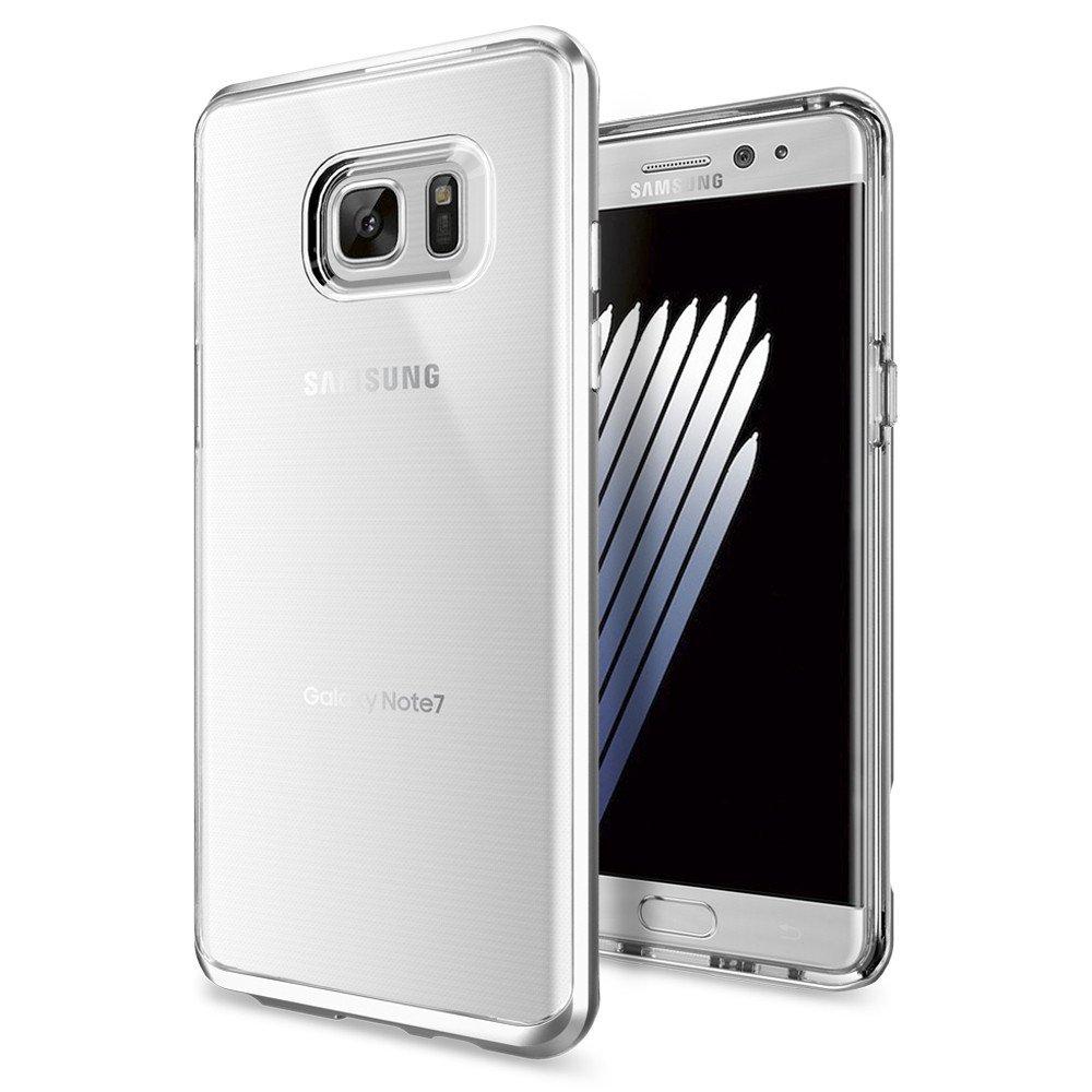 Купить Чехол Spigen Neo Hybrid Crystal Satin Silver для Samsung Galaxy Note 7