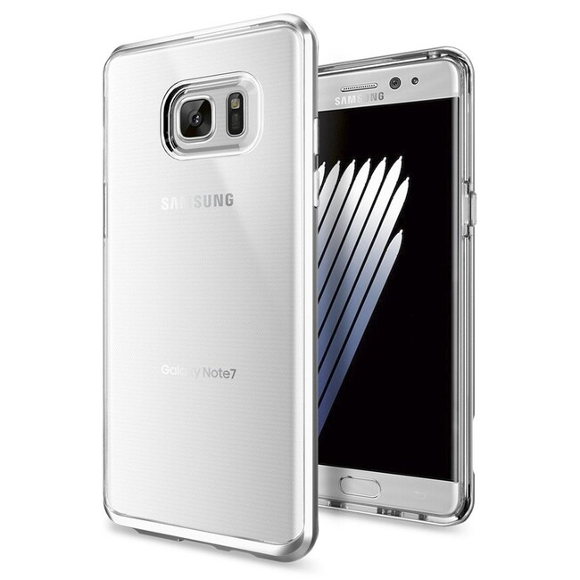 Чехол Spigen Neo Hybrid Crystal Satin Silver для Samsung Galaxy Note 7