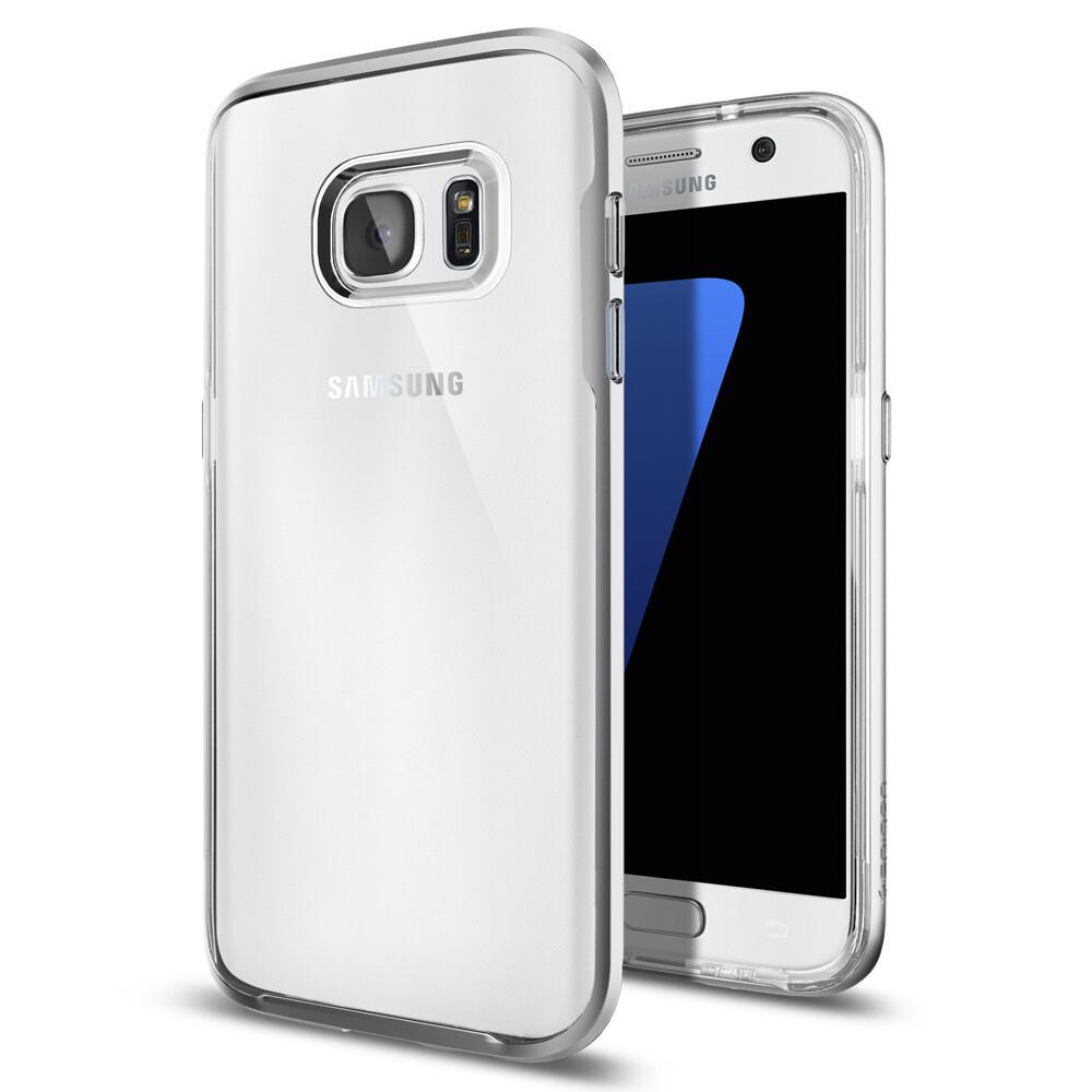 Чехол Spigen Neo Hybrid Crystal Satin Silver для Samsung Galaxy S7