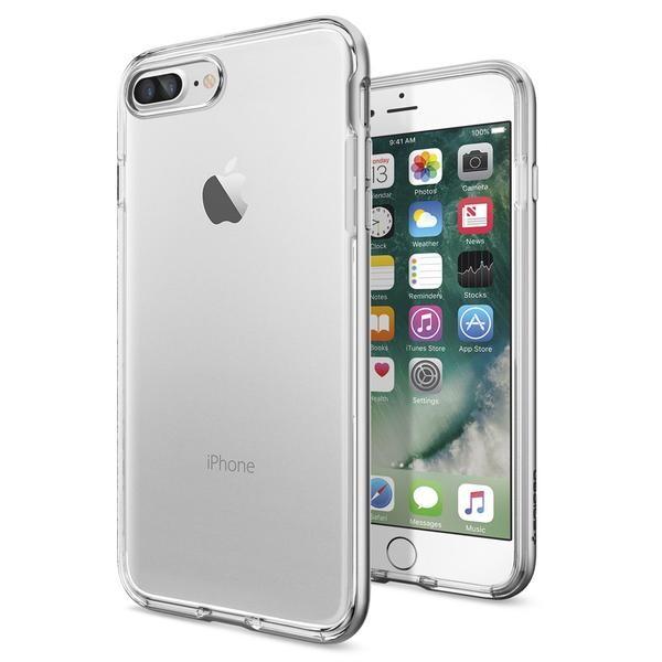 Чехол Spigen Neo Hybrid Crystal Satin Silver для iPhone 7 Plus/8 Plus