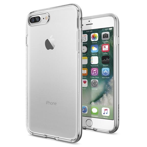 Чехол Spigen Neo Hybrid Crystal Satin Silver для iPhone 7 Plus